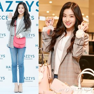 레드벨벳 아이린, 흰 셔츠에 청바지 패션…봄 느낌 '뿜뿜'