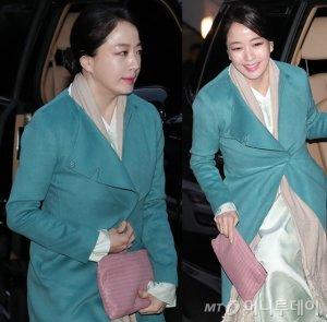 '현대家 며느리' 노현정, 단아한 한복 패션