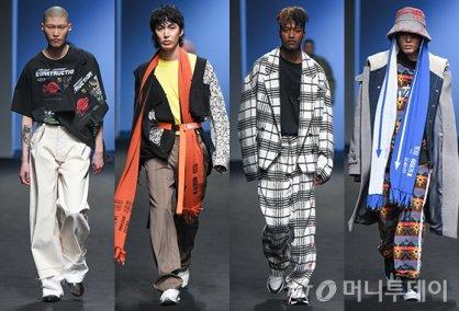 마이너 감성 입은 작업복…'유저' 2018 F/W 컬렉션