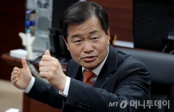 권병윤 한국교통안전공단 이사장 인터뷰/사진=김창현 기자