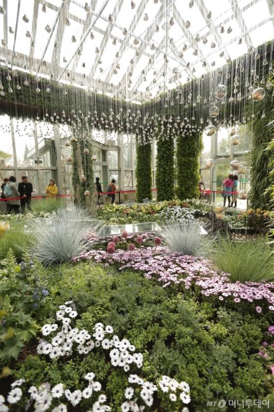 '상해 국제 꽃 박람회'에서 대상을 수상한 에버랜드의 실내정원. /사진제공=삼성물산 리조트부문