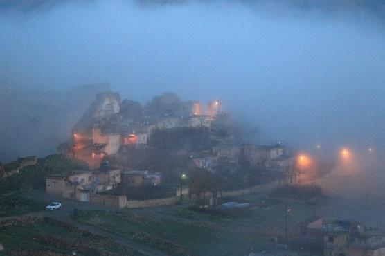 하산케이프의 새벽은 안개와 함께 시작한다.