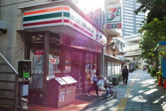 일본 세븐일레븐 편의점 모습. /사진=블룸버그.
