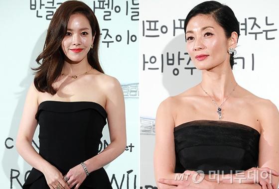배우 한지민, 발레리나 강수진/사진=임성균 기자