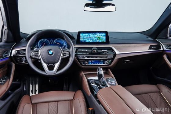 BMW '뉴 530d M 스포츠 패키지' 실내/사진제공=BMW 그룹 코리아