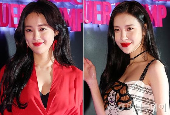 배우 이주연, 가수 선미/사진=김휘선 기자