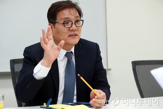 김영준 한국콘텐츠진흥원 원장/사진=임성균 기자