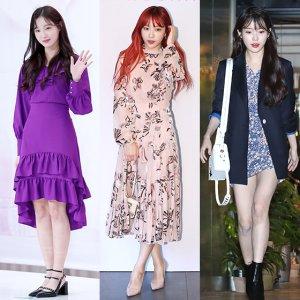꽃놀이 갈 때 '사진발' 잘 받으려면?…'봄 원피스' 패션 TIP