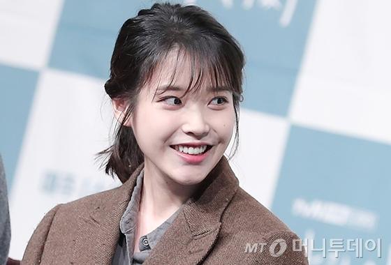 배우 겸 가수 아이유/사진=김창현 기자