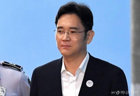 1심에서 징역 5년을 선고받은 이재용 삼성전자 부회장.