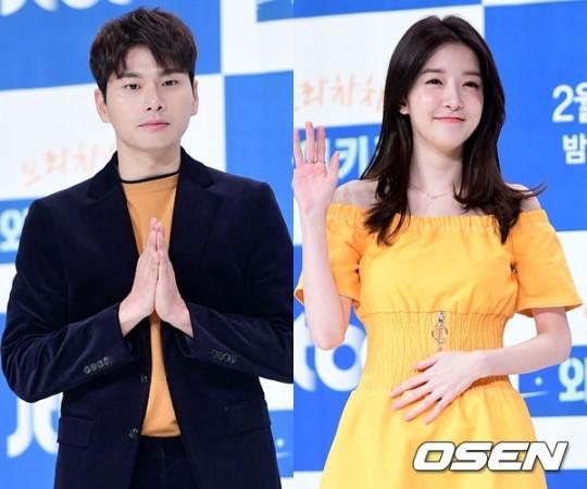 드라마 '으라차차 와이키키'에 출연 중인 배우 이이경(29·왼쪽)과 정인선(27). /사진제공= OSEN