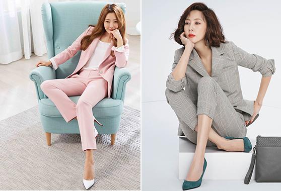 배우 김희선, 김남주/사진=조이너스, 그라치아