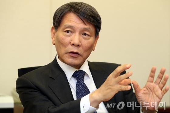 손상호 한국금융연구원장./사진촬영=이기범 기자.