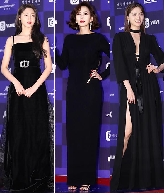 왼쪽부터 설현, 김남주, 나나. /사진=뉴스1