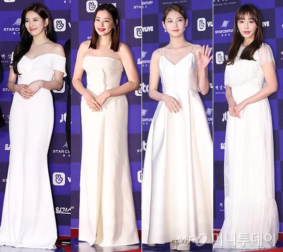 왼쪽부터 수지, 이하늬, 공승연, 정유미. /사진=김휘선 기자, 뉴스1