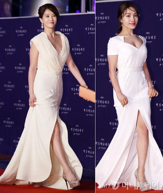 배우 김선아, 최희서. /사진=김휘선 기자