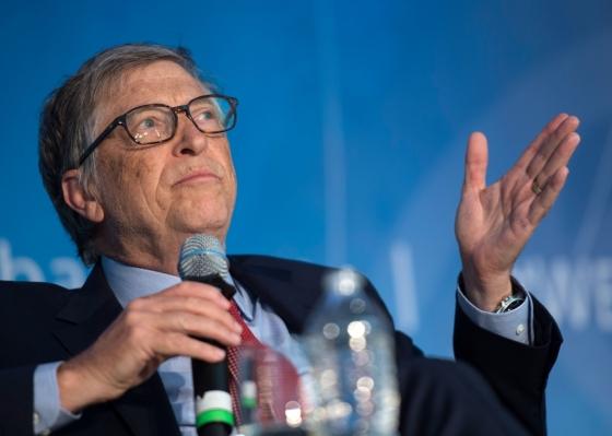 세계 최고 부자 중 한 명이자 세계 최대 소프트웨어 회사 마이크로소프트(MS) 창립자인 빌 게이츠. 게이츠는 최근 가상통화(암호화폐) 투자에 대해 연일 부정적인 발언을 이어가고 있다.<br>/AFPBBNews=뉴스1