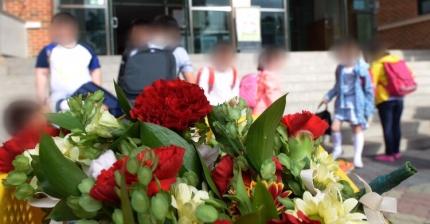 스승의 날인 지난해 5월15일 오전 서울 종로구 창신초등학교에 교육청에서 준비한 카네이션이 놓여 있다./사진=뉴스1
