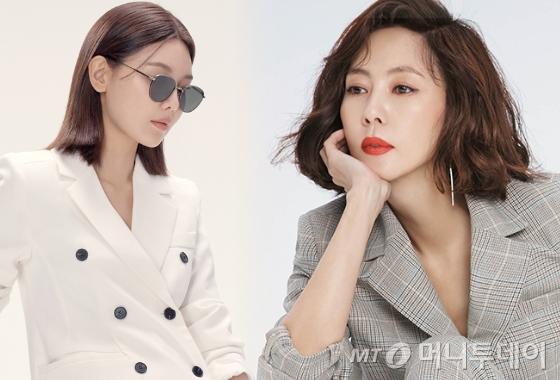 소녀시대 수영, 배우 김남주/사진제공=뷰, 그라치아