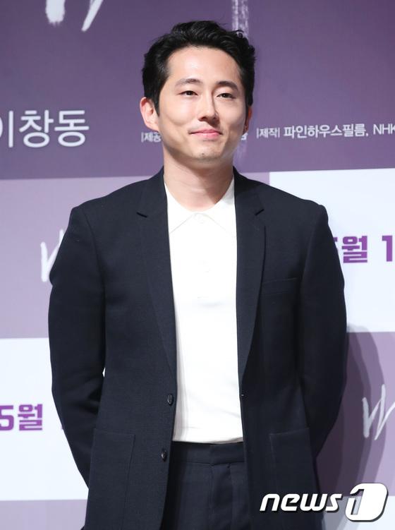 한국계 미국 배우 스티븐 연. /사진제공= 뉴스1