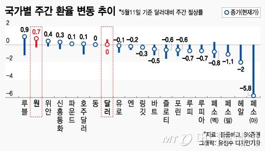 신흥국 변동성 확대…피난처는 '코리아와 친디아'