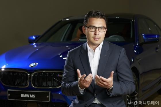 BMW M GmbH 세일즈&마케팅 총괄_로타 슈페/사진제공=BMW그룹코리아