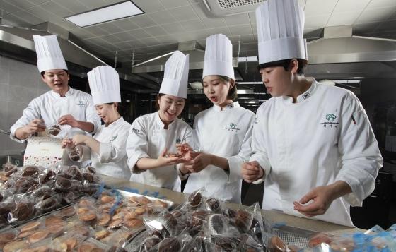 대전과기대 식품조리계열, 스승의 날 쿠키 전달