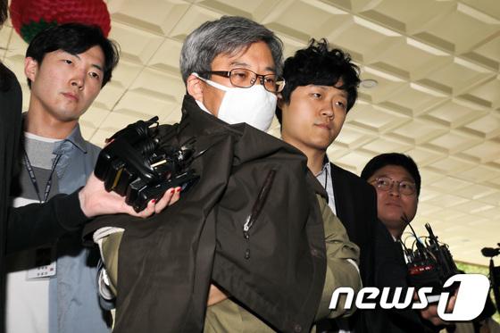 '드루킹' 김모씨. 2018.5.11/뉴스1 © News1 박지수 기자