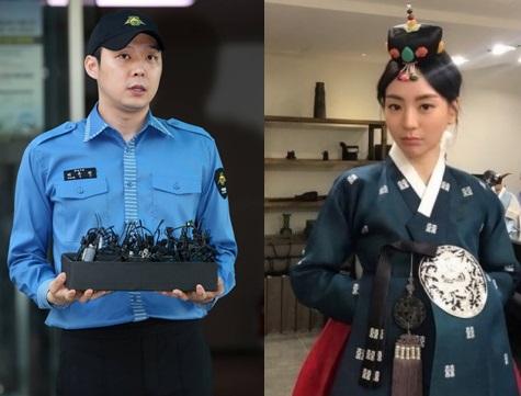 배우 박유천(왼쪽)과 황하나./사진=머니투데이DB, 인스타그램