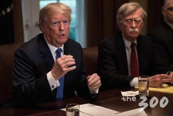 존 볼턴 백악관 NSC 보좌관과 도널드 트럼프 미 대통령. /사진=뉴스1