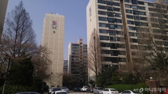 서초구 대치쌍용2차 아파트 전경. /사진=김사무엘 기자