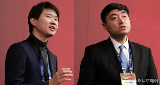 리우차오 펀쓰왕(iFensi) 대표(왼쪽), 에릭 쟝 팬스타임(FANSTIME) 대표(오른쪽)/사진=머니투데이 DB.