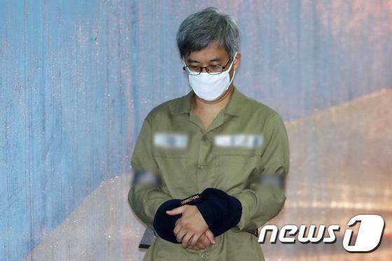 드루킹 김모씨. 2018.5.16/뉴스1 © News1 민경석 기자