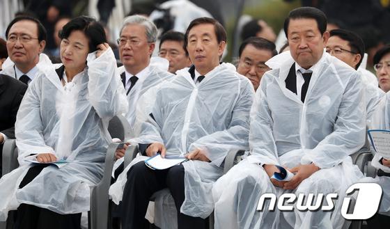 [사진]5.18 기념식 참석한 여야 지도부