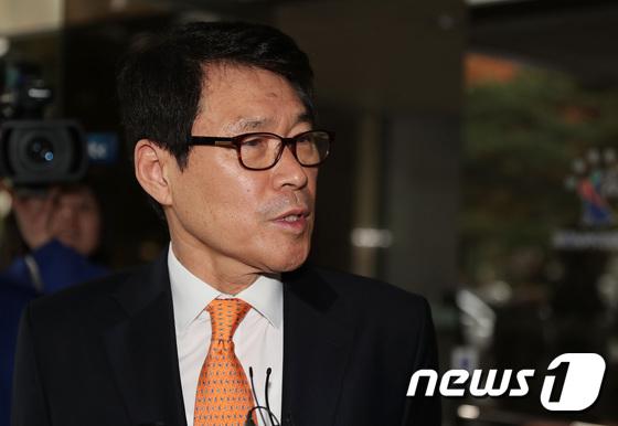 이군현 자유한국당 의원.  © News1 이재명 기자