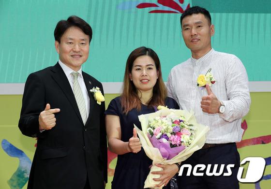 [사진]신의현 부부 '한국 귀화생활 좋아요'