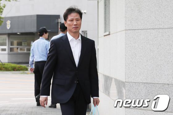 [사진]'국정원 특활비' 안봉근 보석 석방