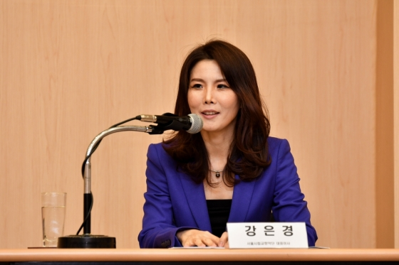 지난 3월 취임한 강은경 서울시립교향악단 신임대표. /사진제공=서울시향