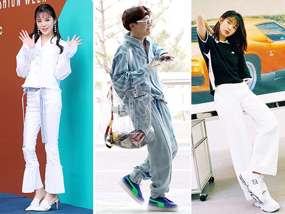 가수 리지, 그룹 방탄소년단 제이홉, 가수 아이유 /사진=머니투데이 DB, 뉴스1, 데이즈드 코리아