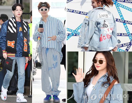 그룹 워너원 라이관린, 방탄소년단 제이홉, 가수 전소미, 걸스데이 유라 /사진=뉴스1, 머니투데이 DB