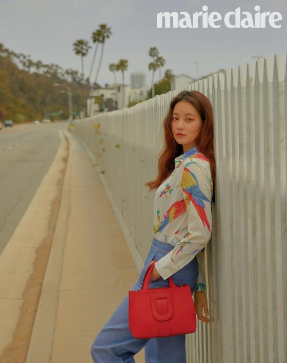 오연서, LA 화보 공개…몽환+시크
