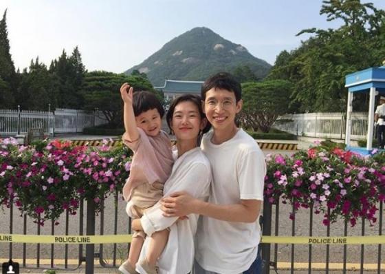 봉태규, 하시시박, 아들 시하(오른쪽부터)/사진=봉태규 SNS