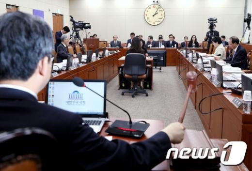국회 4차 산업혁명 특별위원회 전체회의 모습. / 사진제공=뉴스1