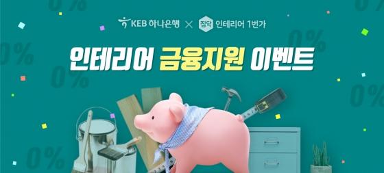 집닥, 인테리어 비용 '무이자 대출' 이벤트 진행