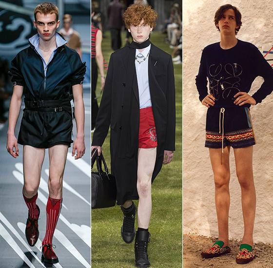Prada, Dior homme, Loewe 2018 S/S Menswear/사진=각 브랜드