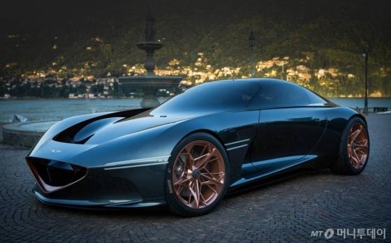 전기차 기반의 GT 콘셉트카 '에센시아 콘셉트'/사진제공=제네시스