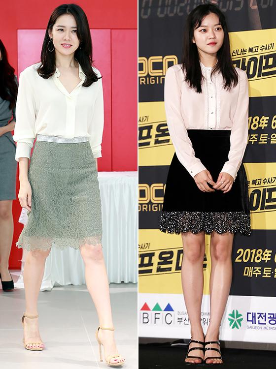 배우 손예진, 고아성/사진=임성균, 김휘선 기자