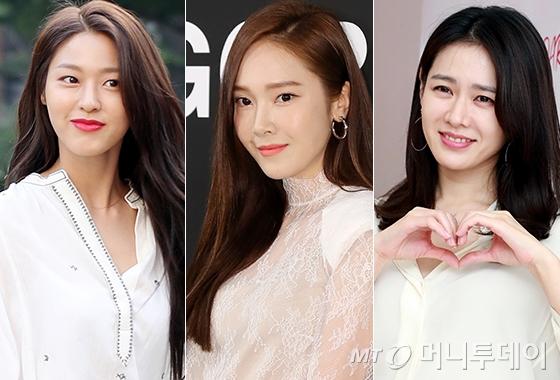 그룹 AOA 설현, 가수 제시카, 배우 손예진/사진=머니투데이 DB