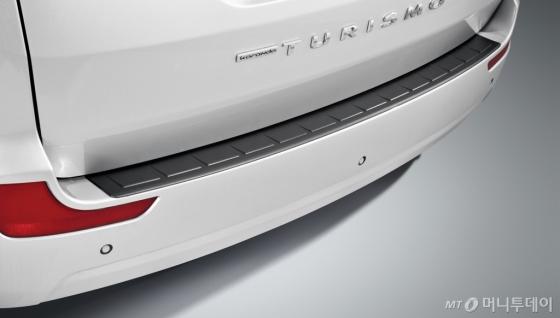'코란도 투리스모 익스트림 스포츠 에디션'의 리어범퍼 커버/사진제공=쌍용자동차