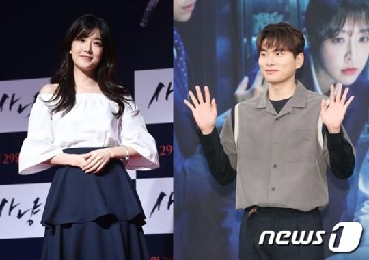 배우 정인선(왼쪽)과 이이경. /사진제공= 뉴스1